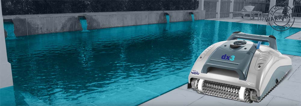 Dolphin Dx3 Automatic Pool Vacuum Robotic Inground Pool