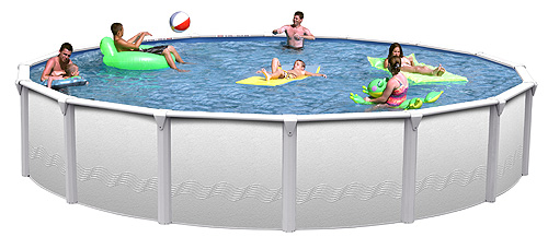 Above Ground Swimming Pool Kit 52 Quot Deep 6 Quot Top Seats