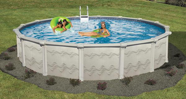 Above Ground Swimming Pool 52 Deep Sunsation Galvanized Steel Above Ground Swimming Pool Kit