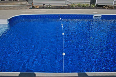 Rope and Float - Inground Pool Safety line