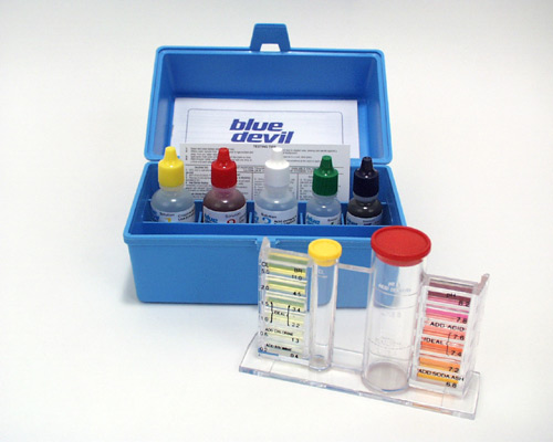 Blue Devil 5 Way Deluxe Test Kit For Pool Or Spa
