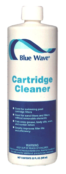 Filter Cleaner, Blue Wave