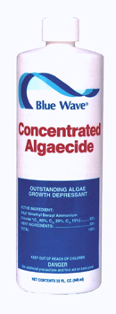 Concentrated Algaecide, Blue Wave