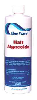 Halt Algaecide, Blue Wave