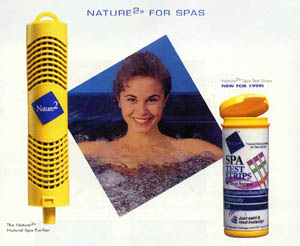 Hot Tub and Spa Nature 2 Spa Purifier