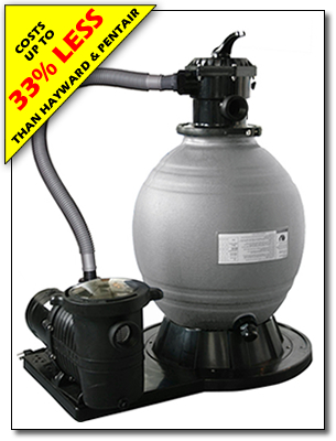 Sand Filter With Pump Sandman For Above Ground Pools