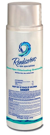 Rendezvous Sani-Spa Chlorinating Granules for Hot Tubs and Spas