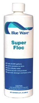Super Floc Clarifier, Blue Wave