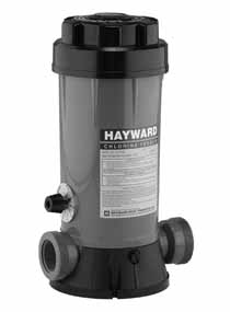 CL200 - Hayward Inline Chlorinator, 9Lb - CL200 - HAYWARD PRODUCTS - UPC - 61037700378