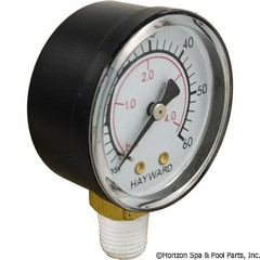 17-150-1380 - Pressure Gauge 1/4 Inch Mpt, 0-60psi, Bottom Mount SUB WITH PART 17-555-1010 - Replaced By Part 17-555-1010 - ECX270861 - UPC - 610377025041 - 17-150-1380
