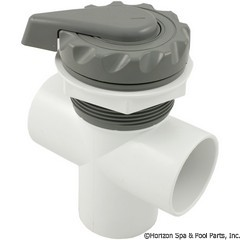 26-270-1312 - 2 Inch Scalloped Top Access Div Valve, Gray - 600-3057 - UPC - 806105101990 - 26-270-1312