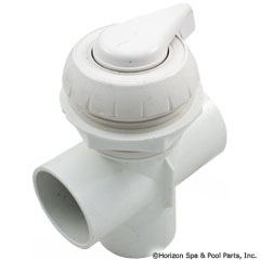 26-270-1320 - 2 Inch Notched Top Access Div Valve, White - 600-3060 - UPC - 806105102034 - 26-270-1320