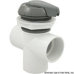 26-270-1322 - 2 Inch Notched Top Access Div Valve, Gray - 600-3067 - UPC - 806105102089 - 26-270-1322