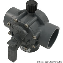 26-295-1003 - 2 Inch - 2? Inch Positive Seal, 3 Port Valve - 2875 - 26-295-1003