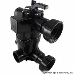 26-295-1600 - 2-in-1 Backwash Valve preplumbed with universal unions for D - BWVL-NVL - 26-295-1600