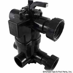 26-295-1602 - 2-in-1 Backwash Valve preplumbed with universal unions for D - 8034J - 26-295-1602