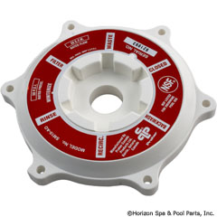 27-253-1020 - Cover Abs (white), 1-1/2 Inch Valve, w/O-Ring - E-6-S1 - 27-253-1020