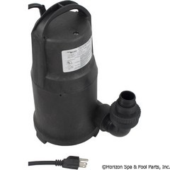 34-325-5000 - Cal Pump Submersible Waterfall Pump - PW5500 - UPC - 029753650003 - 34-325-5000