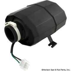 34-355-1510 - Blower Res S Mt 1Hp 120V 4.8A 3 pin Pigtail Silent Aire - 994-55002-7A-S - 34-355-1510