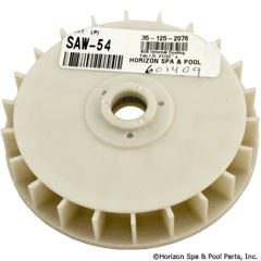 35-125-2076 - AOS Internal Cooling Fan I.D. 21/32 Inch x 4 11/16 Inch - SAW-54 - 35-125-2076