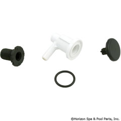 35-270-1006 - Lo Pro Injector 3/8 Inch Barb Elbow Style, Black - 670-2201 - UPC - 806105118073 - 35-270-1006