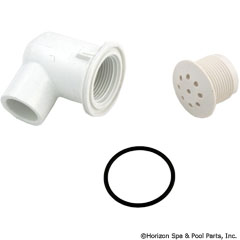 35-270-1042 - Top Flo Injector 1/2 Inch S Elbow Style - 670-2310 - UPC - 806105118233 - 35-270-1042