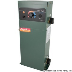 46-197-1050 - 11KW Electric Spa Heater, ELS-1102-2 - 1-1/2 Inch  full flow bronze & copper housing - 1640 - 46-197-1050