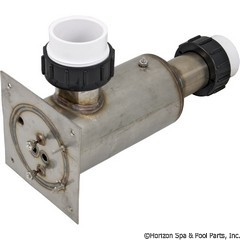 46-238-1302 - Deluxe Heater 5.5KW 1.5 Inch x1.5 Inch , 5 Inch x5 Inch Flange, Morgan Spa - B2550-0316 - 46-238-1302