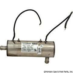 46-371-1272 - Lo Flow 3 Inch x 8-7/8 Inch 4.0KW/240v (Clearwater)3/4 Inch I/O - E2400-0221 - 46-371-1272