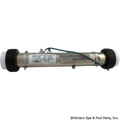 46-555-2206 - Horizon Series Universal Flo-Thru Heater - 2 Inch x 15 Inch ,4.0kW w/2 Inch S Unions - Replaces Therm Products Heater Assembly 20-00467 - 46-555-2206