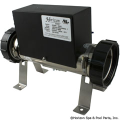 46-555-2305 - Universal Low Flow Heater, 3 Inch x11 Inch , 5.5kW, No Tailpieces/PS - E2550-5002 - 46-555-2305