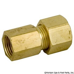 47-319-1215 - Compression Ftng, 1/8 Inch FIPx 1/4 Inch Tube SUB WITH PART 47-439-1270 - Replaced By Part 47-439-1270 - 3902-B - 47-319-1215