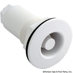 47-439-1001 - Thru-Wall Drywell Fitting, White - 990451-000 - 47-439-1001