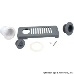 50-470-1002 - Strip Skimmer W/Straight Nut, Gray SUB WITH PART 50-605-1100 - Replaced By Part 50-605-1100 - 10-6500GRY - 50-470-1002