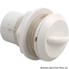 54-270-2052 - Air Control, Straight Nut, Crescent Handle, 1/2 Inch , White - 660-3300 - UPC - 806105115713 - 54-270-2052