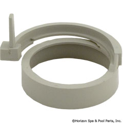 55-110-1043 - Luxury Clip Ring w/Spacer Grey - 47230081 - UPC - 788379621988 - 55-110-1043