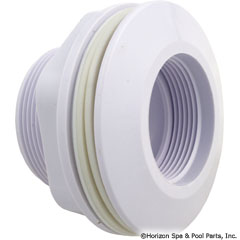 55-110-3567 - Wall Fitting, Fiberglass, Long Body, 1-1/2 Inch THD x 1-1/2 Inch Sckt - 542411 - UPC - 788379610081 - 55-110-3567