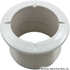 55-270-1275 - Poly Jet Long Wall Fitting White - 215-1760 - UPC - 806105043122 - 55-270-1275