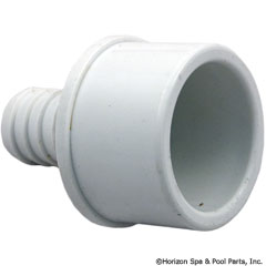 55-270-1536 - Barb Adapter 1.5 Inch Spg x 3/4 Inch B (Ribbed) - 413-4370 - UPC - 806105084545 - 55-270-1536