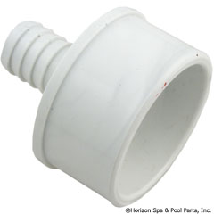55-270-1537 - Barb Adapter 2 Inch Spg. x 3/4 Inch B (Ribbed) - 413-4520 - UPC - 806105084613 - 55-270-1537