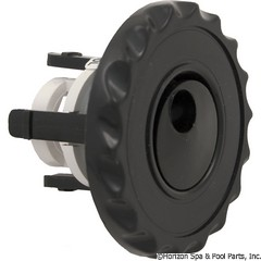 55-270-1687 - Mini Jet Adj. Internal, Whirly, Dlx Face, Black - 224-1021 - UPC - 806105060662 - 55-270-1687