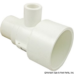 55-270-2380 - Poly Gunite Jet Body Straight 1/2 Inch x1.5 Inch - 211-3040 - UPC - 806105027061 - 55-270-2380