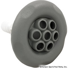 55-270-2563 - Jet,Lg.Face Poly Storm Intl,4 Inch Mssg,5Pt Scallop,Gray - 212-8157 - UPC - 806105035929 - 55-270-2563