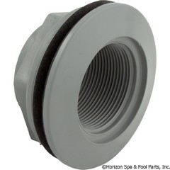 55-270-3202 - 1-1/2 Inch Fpt Thru W/Nut-Gray-Bagged Individually - 400-9177B - UPC - 806105082558 - 55-270-3202