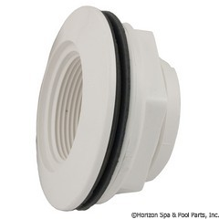 55-270-3210 - 1-1/2 Inch Fpt x 1-1/2 Inch S W/Nut-White-Bagged Individually - 400-9150B - UPC - 806105082404 - 55-270-3210