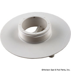 55-300-1006 - 4 Inch Sumpless Bulkhead,1 1/2 Inch mpt, White - 415T101 - UPC - 883612036038 - 55-300-1006