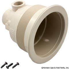 55-360-1101 - Jet Body, JWB, HTA, 4-1/2 in Hole Size, Air 1/2 Inch S, Water 1-1/2 Inch spg, Almond - 1644914 - 55-360-1101