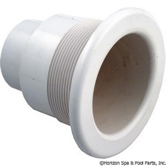 55-470-2615 - Whirlpool Jet Wallfitting(w/Comp Ring & Nut) - 56-5724LR WHT - 55-470-2615