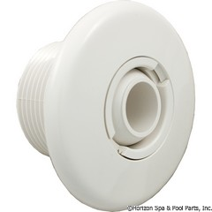 55-470-3400 - Micro Wall Fitting Less Nut White - 10-3700WHT - 55-470-3400