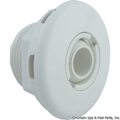 55-470-3450 - Micro Wall Fitting W/ Nut White - 10-3200WHT - 55-470-3450